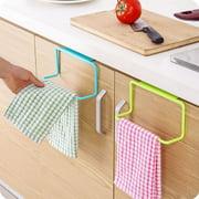 Creative Plastic Free Drilling Hanging Bathroom Towel Racks Cabinet Ring Rack