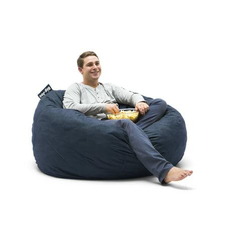 Pleasing Big Joe Large 4 Fuf Bean Bag Chair Multiple Colors Fabrics Alphanode Cool Chair Designs And Ideas Alphanodeonline