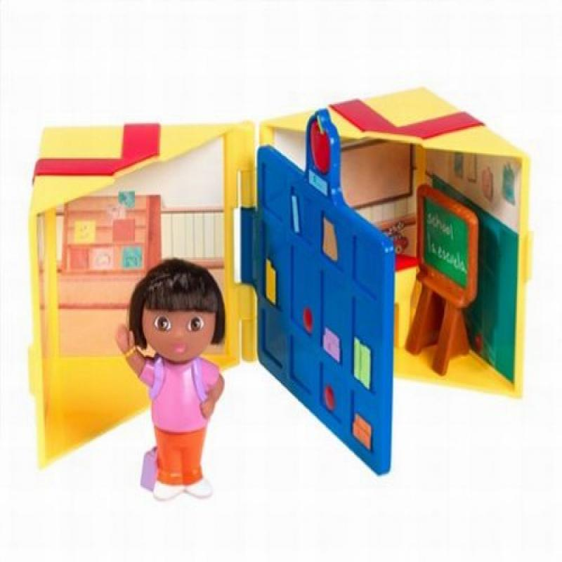Dora the Explorer Surprise Inside First School Day Playse by