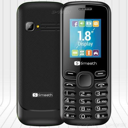 NEW Smooth Amigo Factory UNLOCKED GSM Phone MP3/MP4 Music Player DUAL SIM  RADIO Black