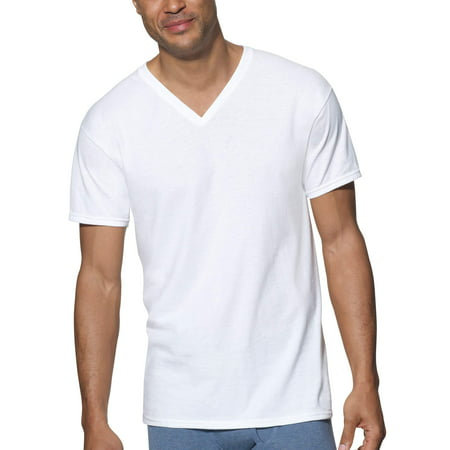 Hanes Big Men's Ultimate ComfortSoft V-Neck Undershirt,