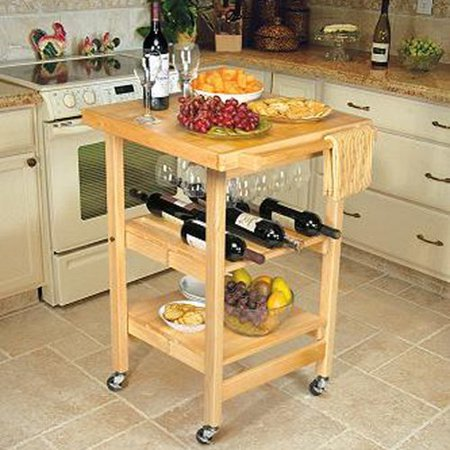 The Entertainer Foldable Kitchen Cart