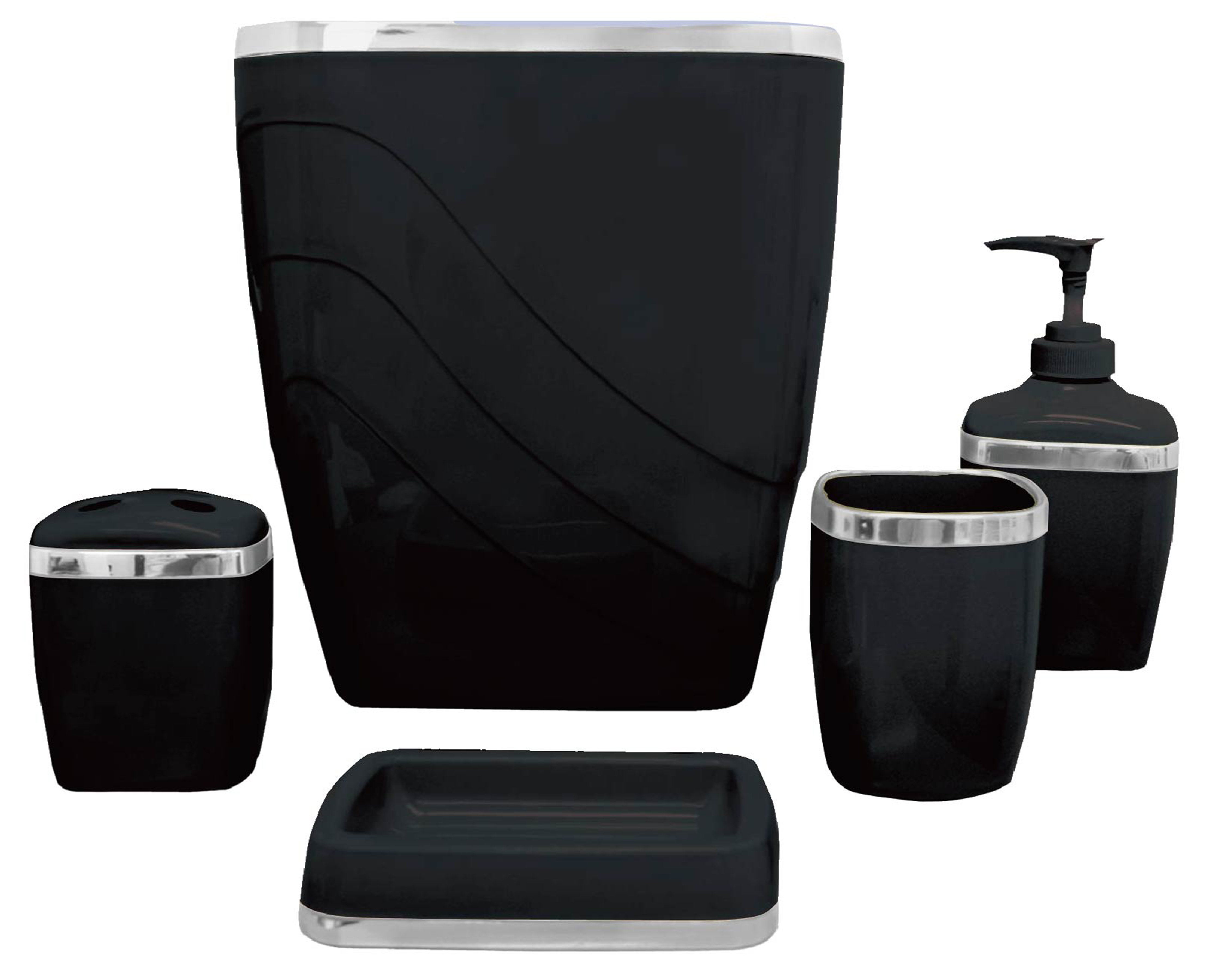 Soap Dish for Shower and Bathroom Natural Soap Holder to Keep The Soap Dry Black