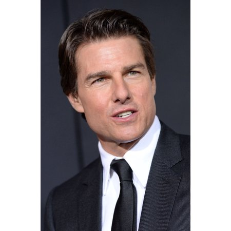 Tom Cruise At Arrivals For Edge Of Tomorrow Premiere Amc Loews Lincoln Square Imax New York Ny May 28 2014 Photo By Kristin Callahaneverett Collection Photo Print
