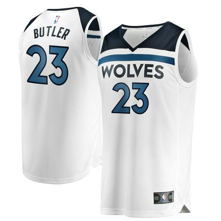 on sale d38da 872f6 Jimmy Butler Minnesota Timberwolves Fanatics Branded Fast Break Replica  Jersey White - Association Edition