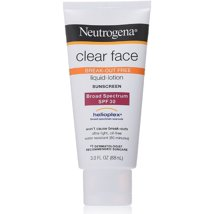Sunscreen & Tanning: Neutrogena Clear Face