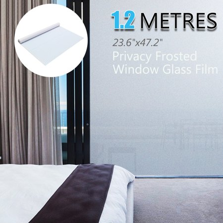 "PVC Frosted Glass Window Film Sticker Removable For Office Home Bedroom Bathroom Protect Privacy 196.85x35.43"" 24""x 12FT 24x48"" - image 5 of 5"