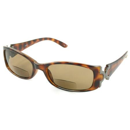 ed0cfe2cbe Readers.com The Classic Bifocal Sun Reader Delicate Small Bifocal  Sunglasses for Women - Walmart.com