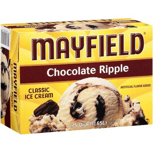 Mayfield Chocolate Ripple Ice Cream, 1.75 qt