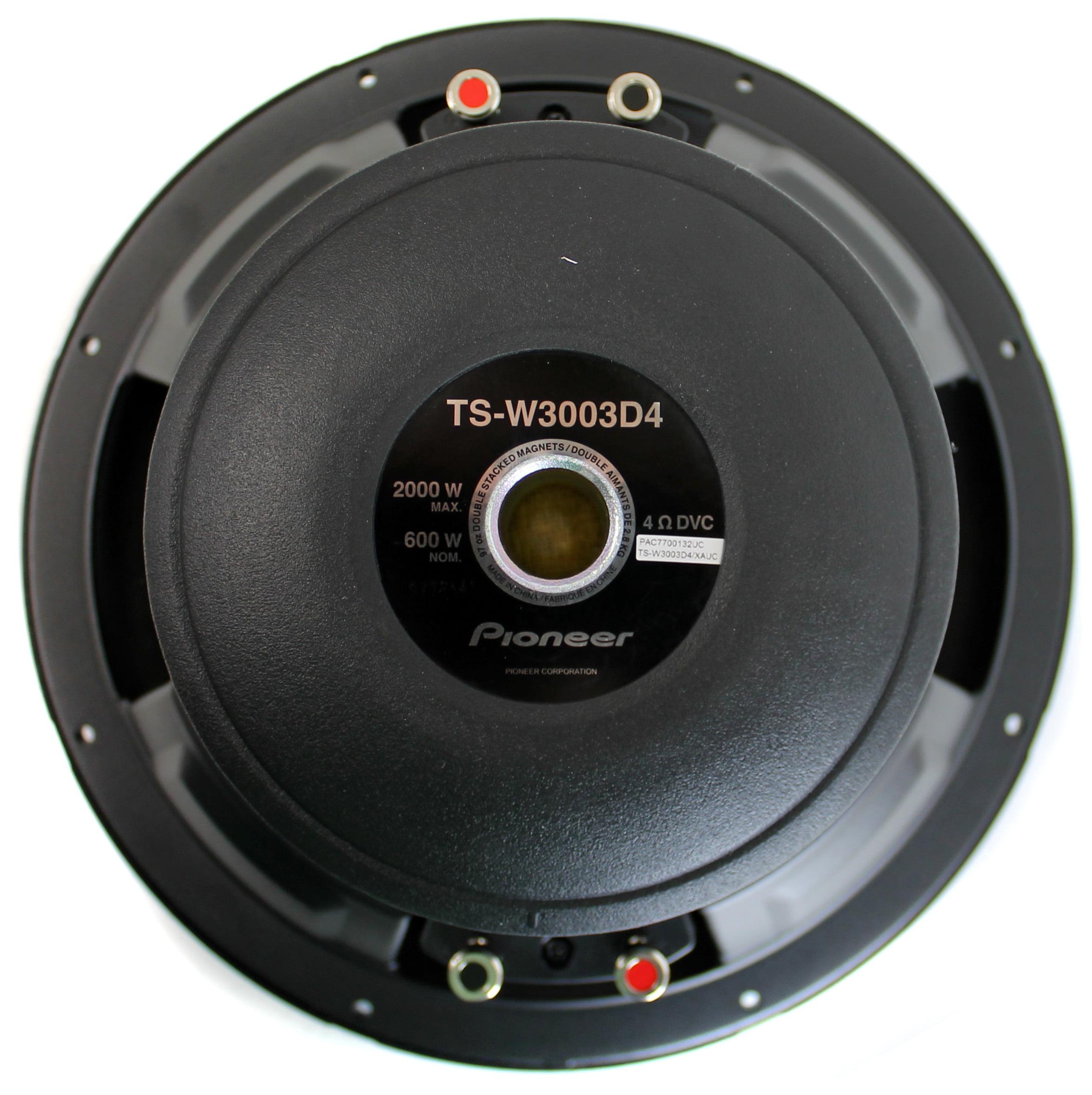 Pioneer Ts W3003d4 12 2000 Watt Champion Pro Subwoofer 8ohm Sub Wiring Diagram