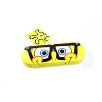 Nickelodeon Spongebob Squarepants Eye Sun Glasses Hard Case Yellow Round