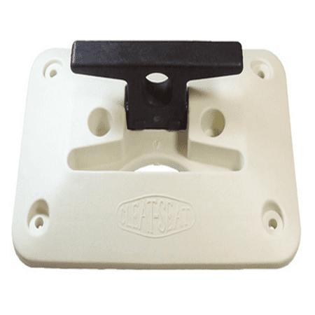 CIPA The Cleat Seat, White/Black