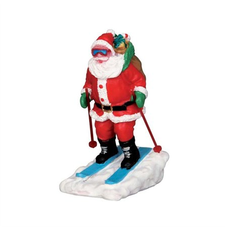 Collection Santa Skier #52337, From the wonderful world of Lemax these figurines and accessories make your holiday village tabletop town spring to.., By Lemax Village Ship from US ()