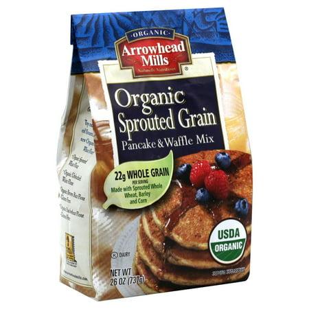 Hain Celestial Group Arrowhead Mills  Pancake & Waffle Mix, 26 (Arrowhead Mills Pancake Mix)