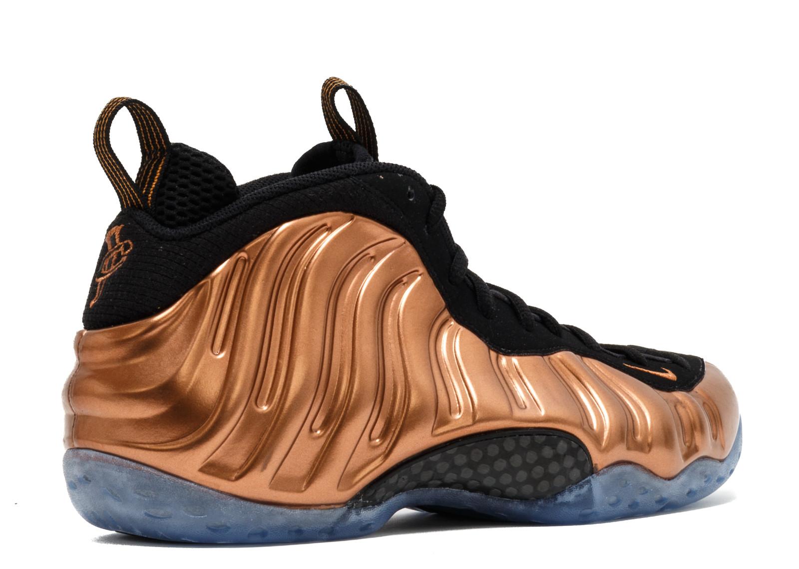 pretty nice ccb14 f642f Mens Nike Air Foamposite One Copper Black Metallic Copper 314996-007 ...