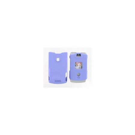 Snap On Case for Motorola RAZR V3 V3c - Purple (With Belt clip)