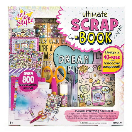 Style Scrapbooking - Just My Style Ultimate Scrapbook by Horizon Group USA