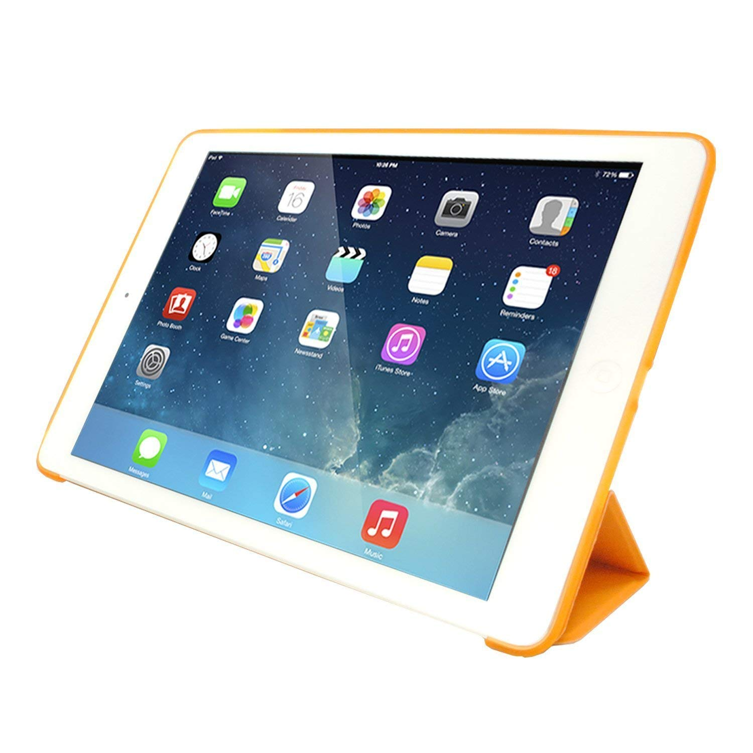 MIIU by Digiparts Ultra Thin Magnetic Smart Cover & Clear Back Case for Apple iPad Air(5th Gen), Yellow - image 3 of 5