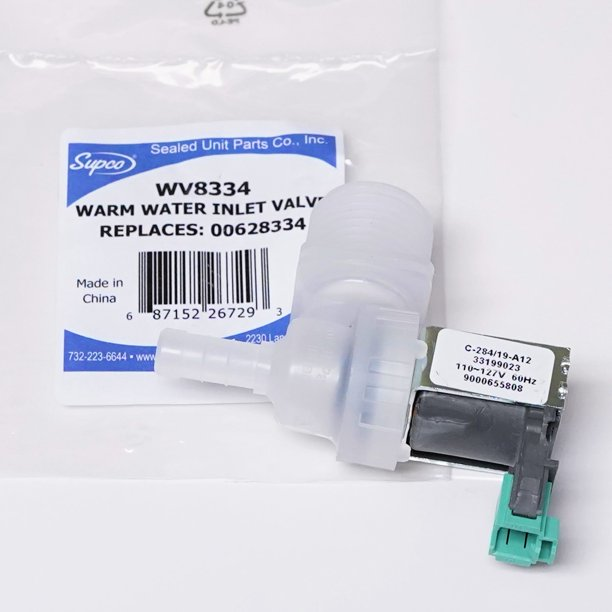 Supco WV8334 Dishwasher Warm Water Solenoid Valve For