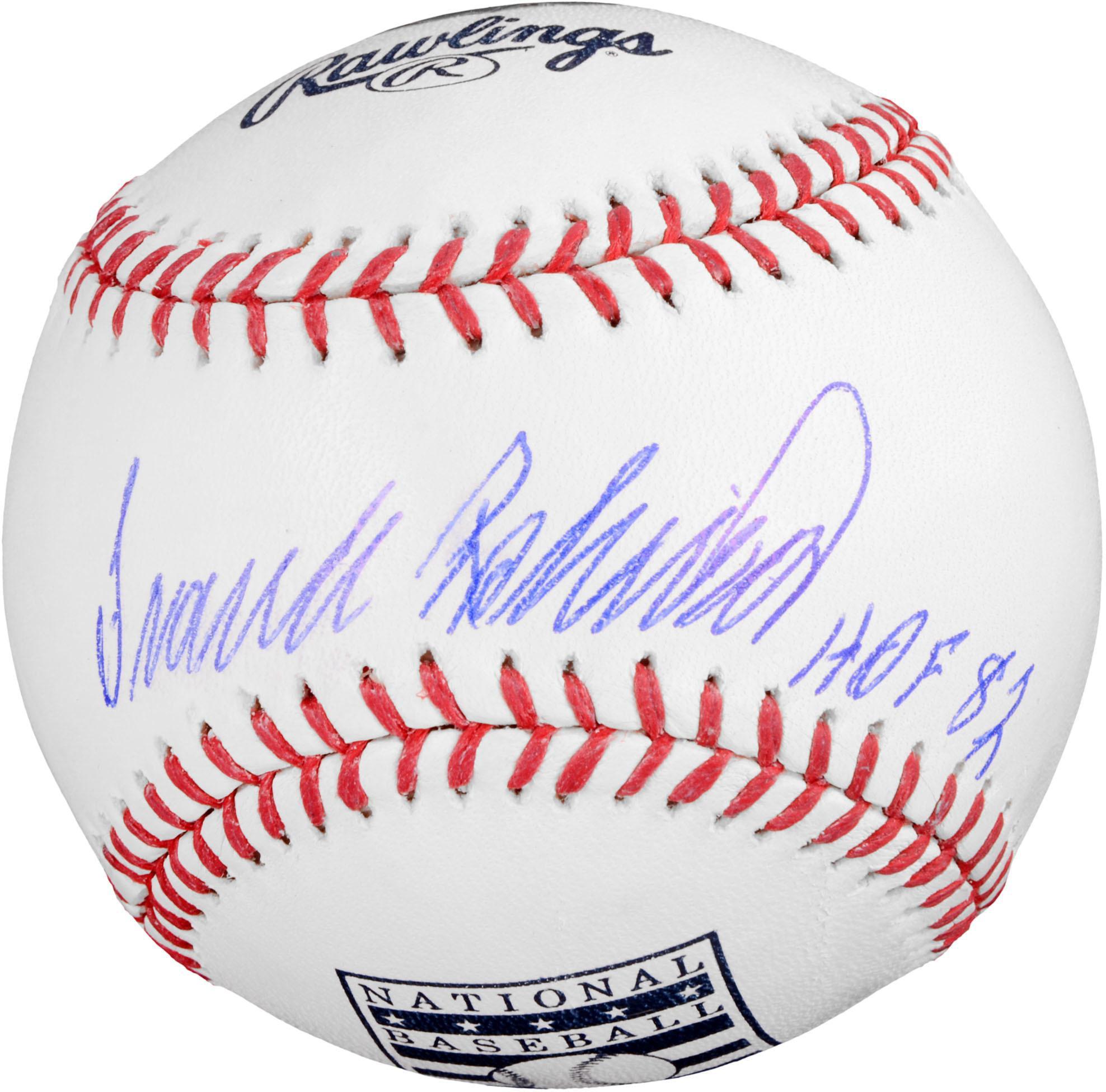 Frank Robinson Baltimore Orioles Autographed HOF Logo Baseball with HOF 82 Inscription - Fanatics Authentic Certified