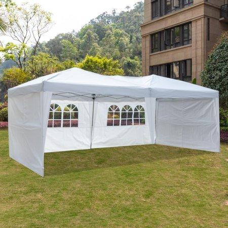 Ktaxon 10' x 20' Ez Pop Up 4 Walls Canopy Party Tent Heavy Duty