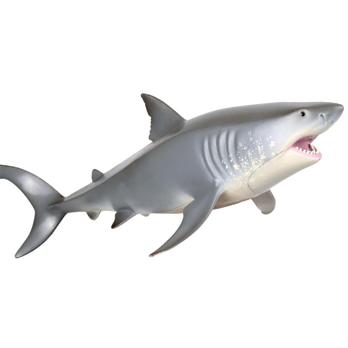 Megalodon 1 Pcs Sea Ocean Animals Plastic Shark Figurines Educational Toys