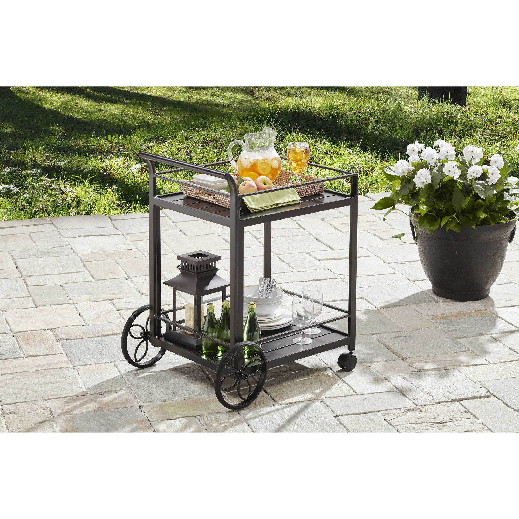 Better Homes and Gardens Carter Hills Outdoor Serving Cart