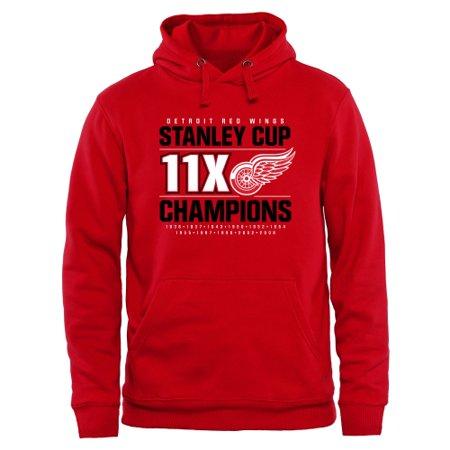 Detroit Red Wings Rinkside Victor Pullover Hoodie -