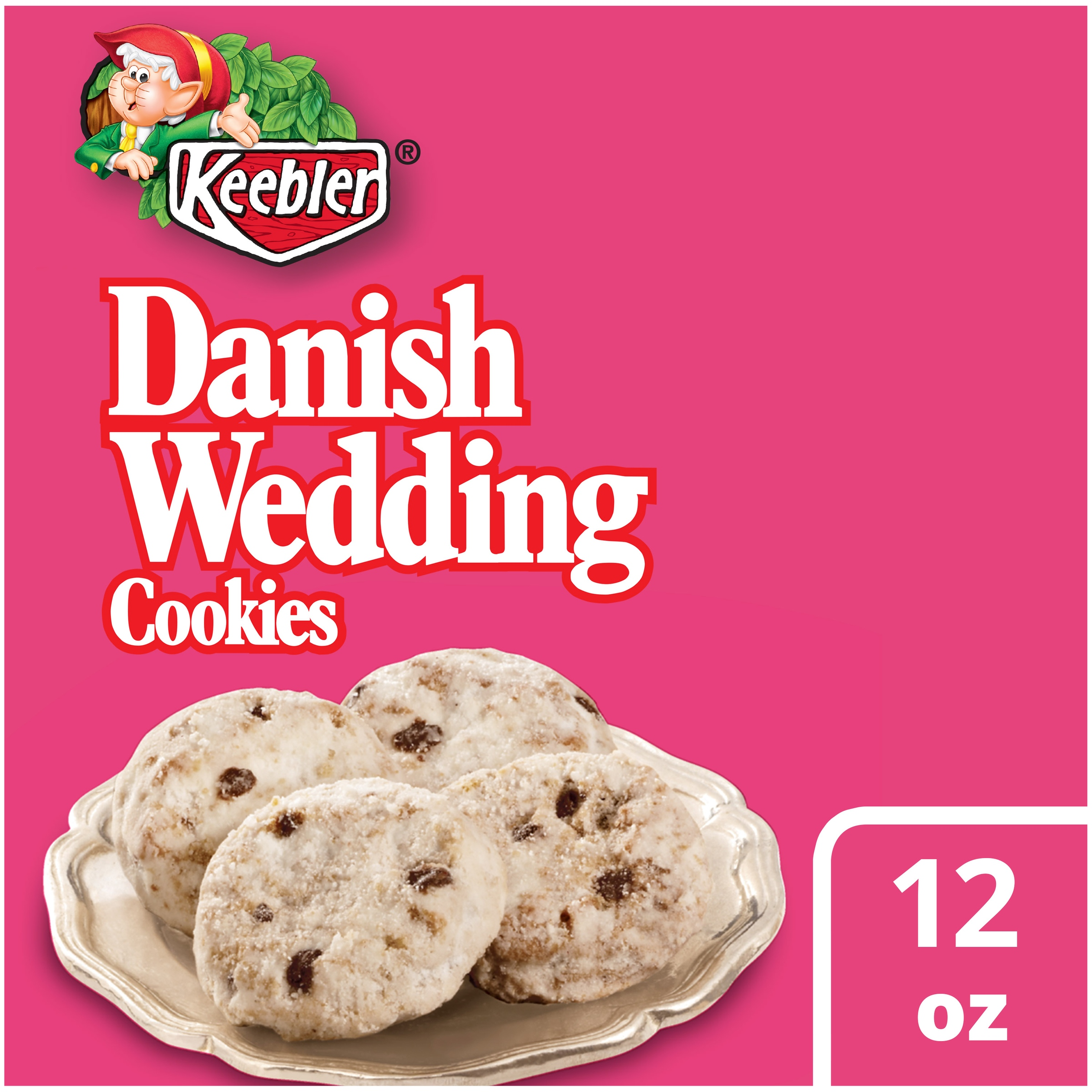 Keebler Danish Wedding Cookies, 12 oz - Walmart.com
