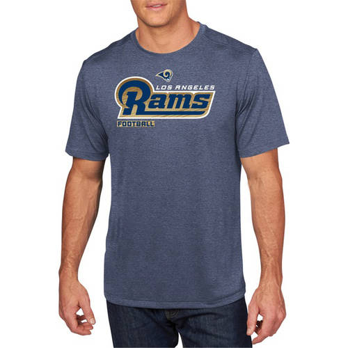 NFL Big Men's Los Angeles Rams Synthetic Tee, 2XL