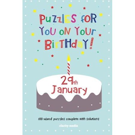 Puzzles for You on Your Birthday - 29th January