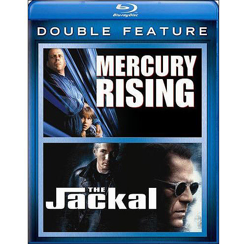Mercury Rising / The Jackal (Blu-ray) (Widescreen)