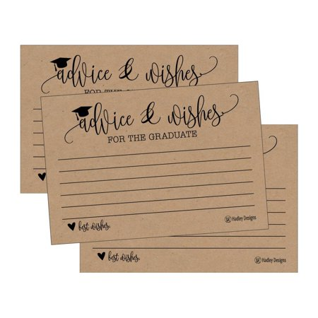 25 Rustic Graduation Advice Words of Wisdom Cards For ...