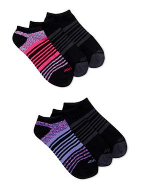 Avia Women's Super Soft No Show Socks, 6 Pack