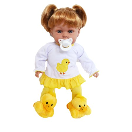 15 Inch Baby Doll Clothes Spring Chick Pjs for Bitty Baby Dolls and My Sweet Love Dolls- Pjs only](Sweet Nude Chicks)