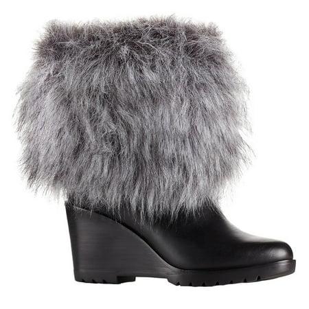 Sorel Women's Park City Short Boot Black 6 B(M) US ()