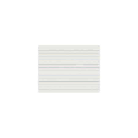 School Smart Sulphite Long Way Skip-A-Line Writing Paper, 10.5
