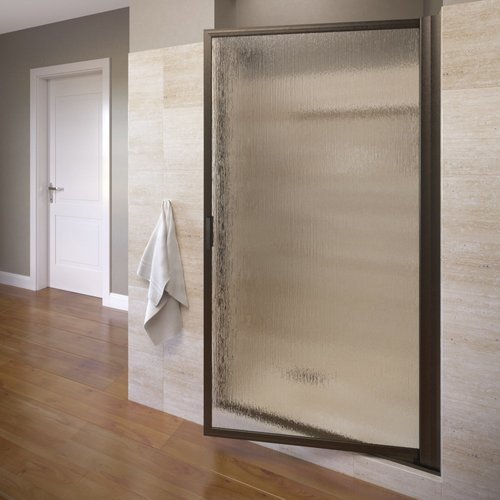 Basco Sopora 32.88'' x 67'' Pivot Framed Shower Door