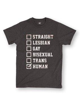 2db76b69a31f Product Image LGBT Checklist Lesbian Gay Trans Human Pride Fashion Novelty  Mens T-Shirt