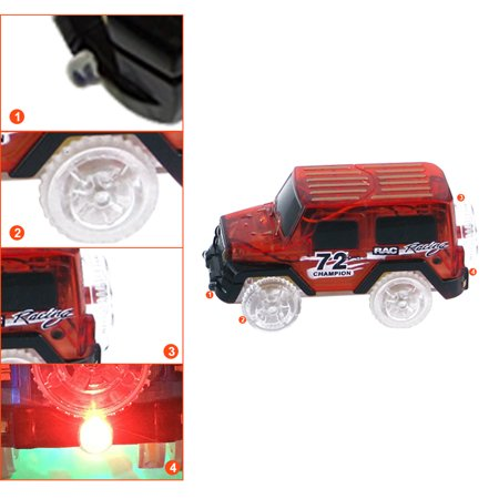 1Pcs Cars For Magic Tracks Glow in the Dark Amazing Racetrack Light Up Race (Not Include Tracks) - image 4 of 4