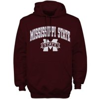 Mississippi State Bulldogs New Agenda Midsize Arch Over Logo Hoodie - Maroon - 5XL