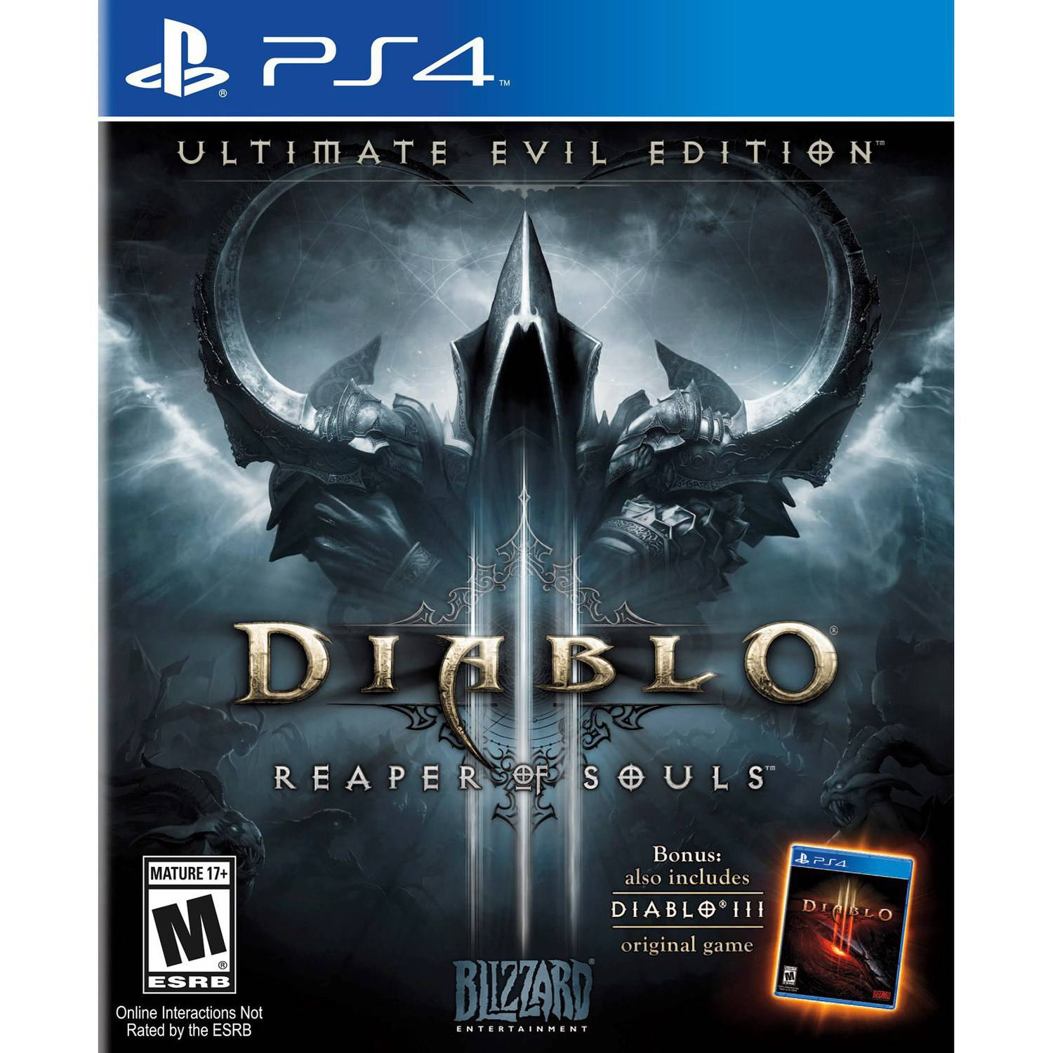 Blizzard Diablo III Ultimate Evil (Playstation 4) Used by Blizzard Entertainment