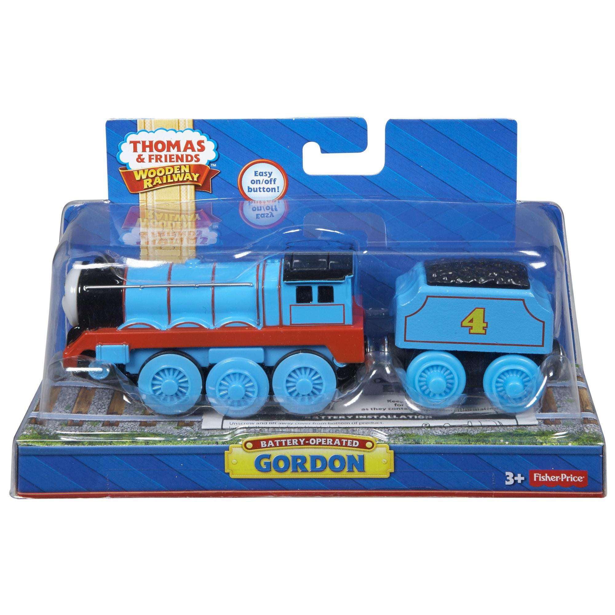 Thomas Friends Wooden Railway Twr Engine Battery Operated Gordon