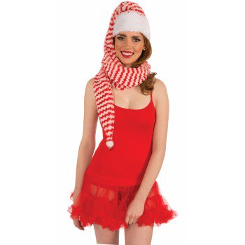 Santa Hats For Sale (SANTA COZY WRAP HAT)