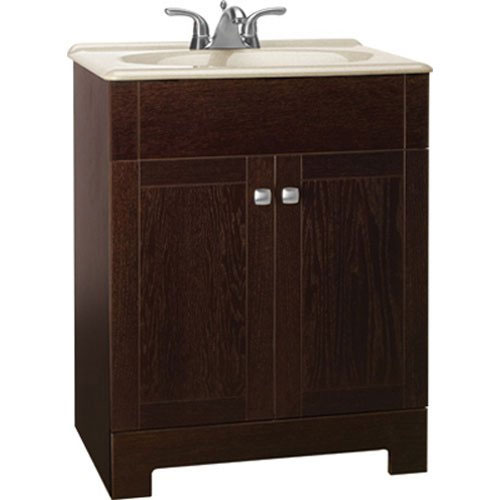 RSI HOME PRODUCTS SALES INC CBPPFSJVO24 24-3/4x18 Oak Vanity