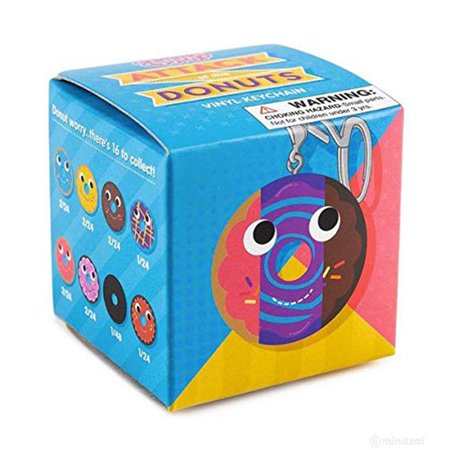Yummy World Blind Box Attack of the Donuts Keychain Series - One Random
