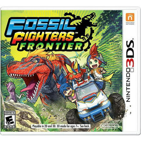 Fossil Fighters Frontier, Nintendo, Nintendo 3DS,