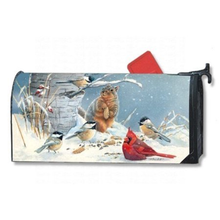 Magnet Works Wild Party Magnetic Mailbox Wrap Cover