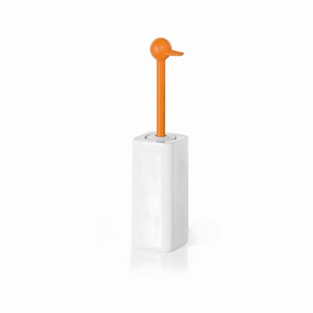 WS Bath Collections Complements Skoati Free Standing Toilet Brush and (Freestanding Bath Mixer)