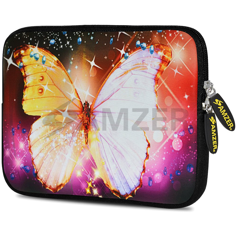 Universal 10.5 Inch Soft Neoprene Designer Sleeve Case Pouch for 10.5 Inch Tablet, eBook, Netbook - Sparkling Gatsby